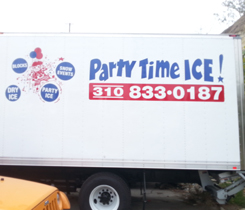 Party Time Ice Delivery Truck