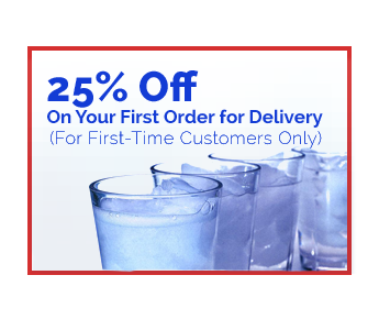 25% Off  - On Your First Order for Delivery (For First-Time Customers Only)